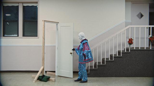 , 'Door (Jessie Pierrot),' 2018, Rubber Factory