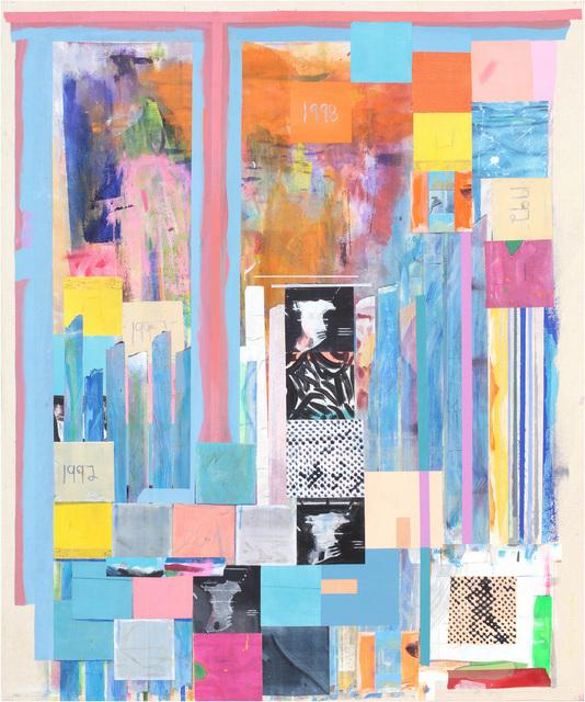 , 'mocacpolke92or1,' 2014, Miles McEnery Gallery