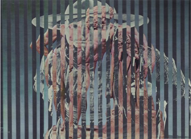 , 'Sans titre, du cycle Hommage aux vedettes du cinéma,' 1965, Galerie Le Minotaure