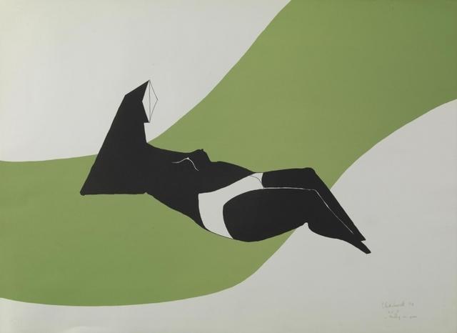 , 'Reclining Figure,' 1971, Pangolin