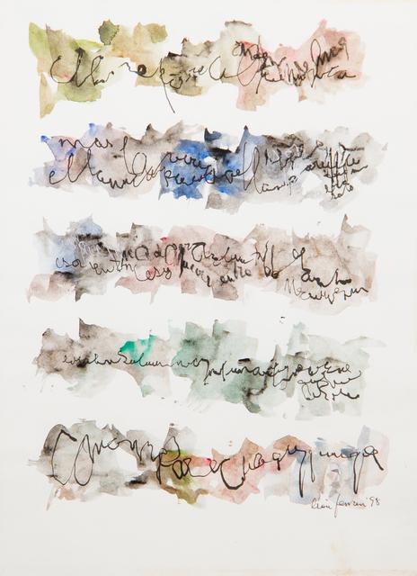 , 'Untitled,' 1998, Jorge Mara - La Ruche