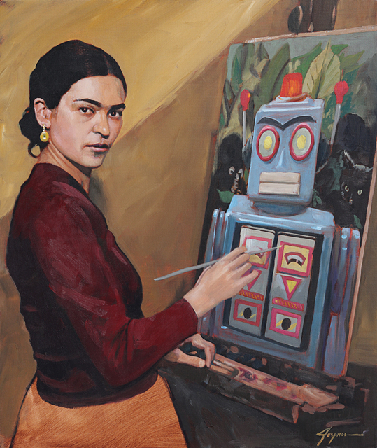, 'Frida at Work,' , Corey Helford Gallery