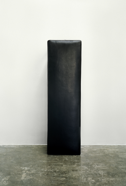 , '纪念碑-黑皮椅 Black Stool,' 2010, Shanghai Gallery of Art