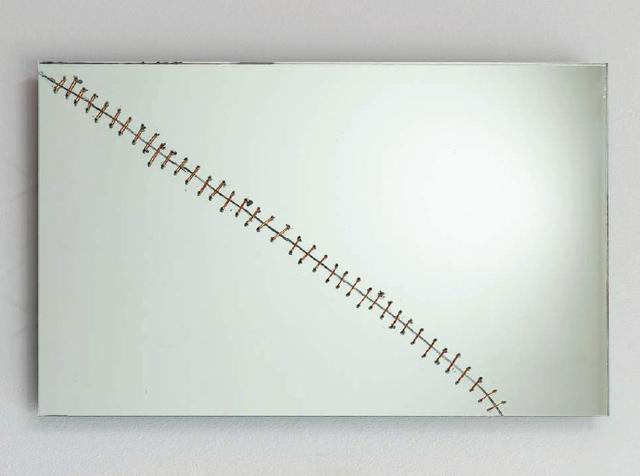 , 'Repaired Broeken Mirror #11,' 2015, Galerie Nagel Draxler
