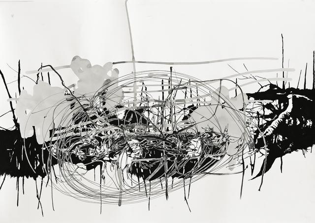 , 'Rifts of Absence 04,' 2010, Galerie Nikolaus Ruzicska