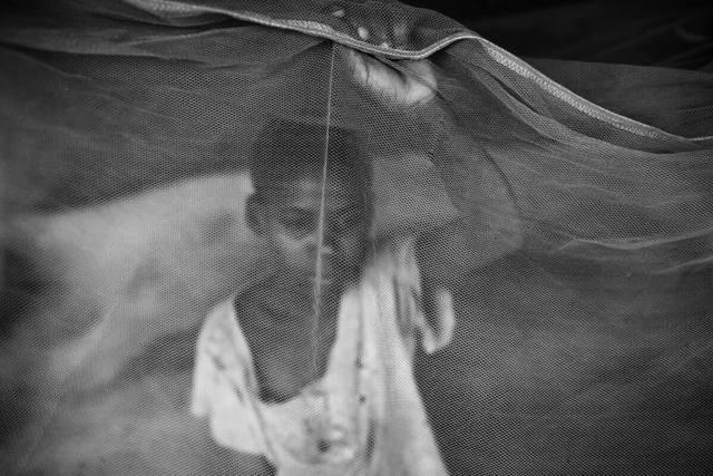 , 'A boy behind the net, Faith serie ,' 2016/2019, AKKA Project