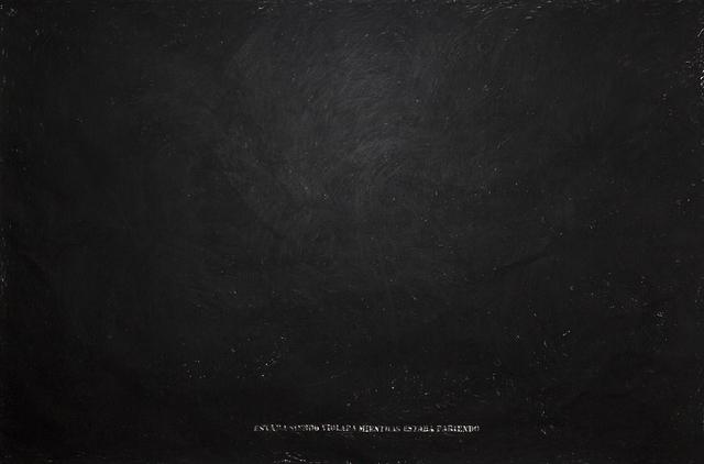 , 'Untitled (Triptych),' 2018, Machete