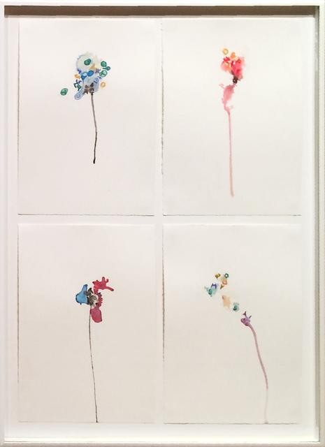 , 'Flower vertical quartet II,' 2012, Cecilia de Torres, Ltd.
