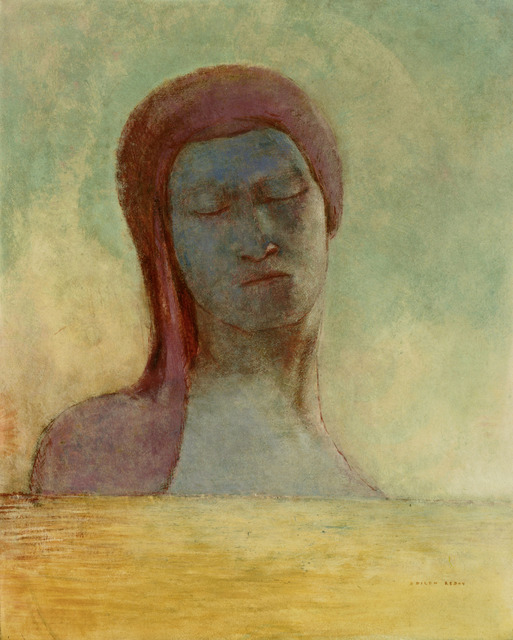 , 'Yeux clos (Closed Eyes),' ca. 1894, Fondation Beyeler