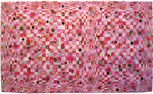 , 'Untitled from the Tapestry Series (red cream gray),' 2006, P.P.O.W