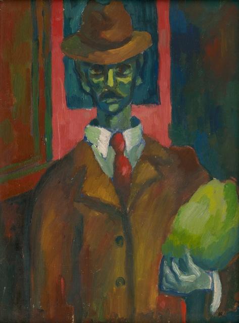 , 'Mexican Man (Pre-W.P.A.) ,' 1939, InLiquid
