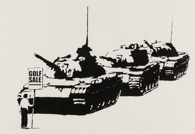 Banksy, 'Golf Sale', 2004, Forum Auctions