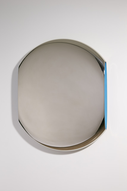 , 'Mirror 'Pantheon' Cerulian Blue,' 2011, David Gill Gallery