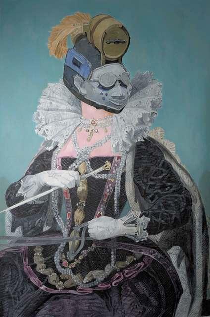 Wole Lagunju, 'Of race, mythology, and redefinitions of storytelling', 2014, Ed Cross Fine Art
