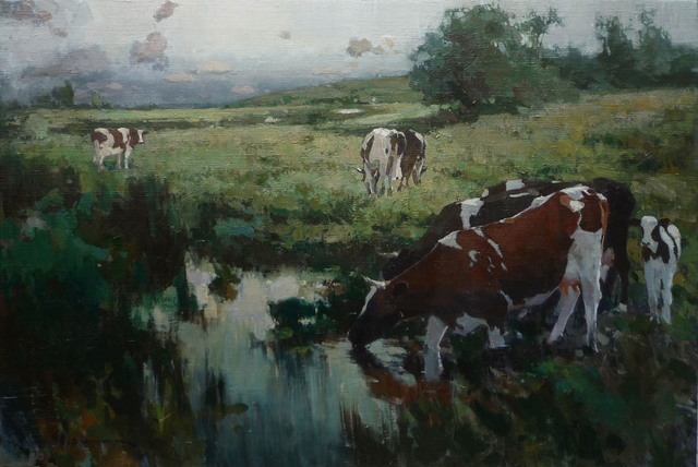 , 'Out to Pasture ,' 2015, Abend Gallery