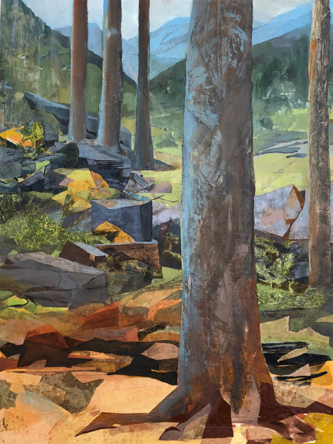 , 'Five Trees, Five Mountains,' , Momentum Gallery