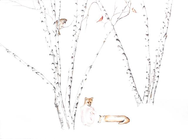 , 'Fox Apprentice #2,' 2016, Jenn Singer Gallery