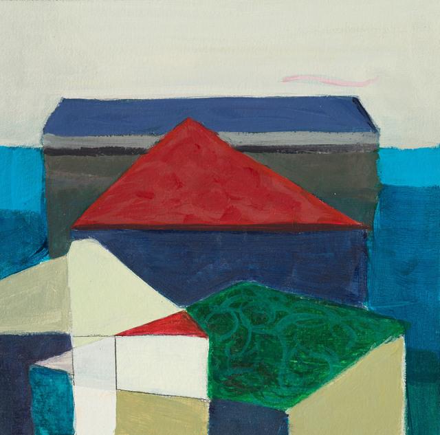 , 'Red Triangle,' 2017, InLiquid