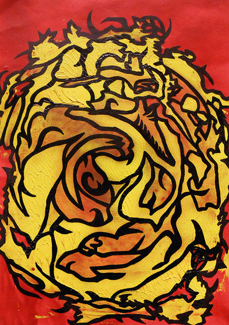 , 'Binding Ophidian,' 2015, Agora Gallery