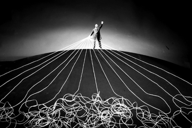 Gilbert Garcin, 'Le maître du monde - The master of the world', 2008, Photography, Gelatin silver print, Stephen Bulger Gallery