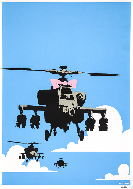 Banksy, 'Happy Chopper', 2003, Lazinc