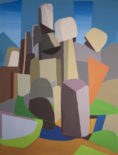 , 'Joshua Tree Rocks,' 2018, Bowery Gallery