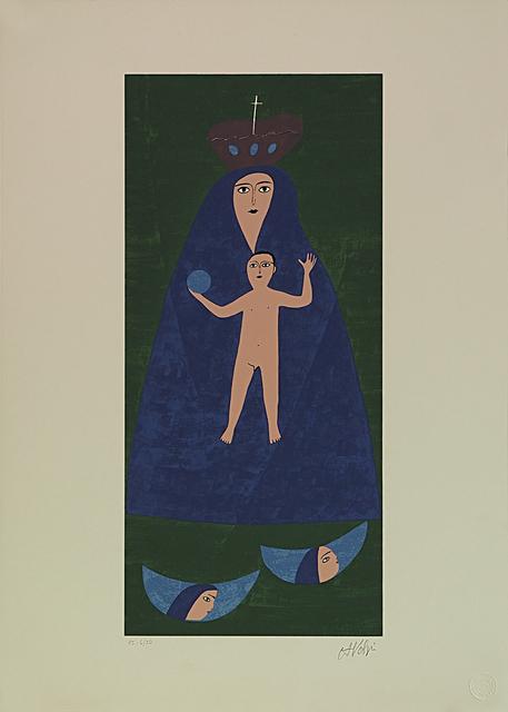 Alfredo Volpi, 'Nossa Senhora', 1970-1990, LAART