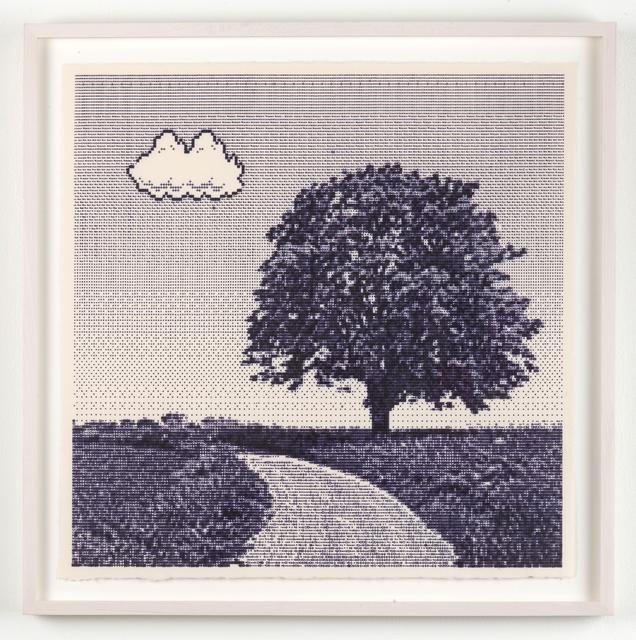 Arno Beck, 'Untitled (Tree)', 2019, Joshua Liner Gallery