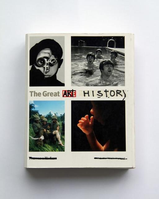 , 'O Fantástico e Inabitável Mundo da Historia da Arte [The great history of art book],' 2005-2013, Galeria Superfície