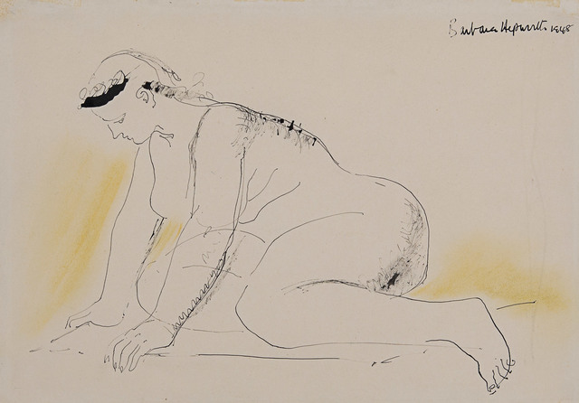 , 'Crouching Figure,' 1948, Rosenberg & Co.