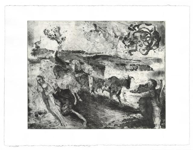 Diarmuid Delargy, 'The Imminence of Death', Print, Intaglio, Stoney Road Press