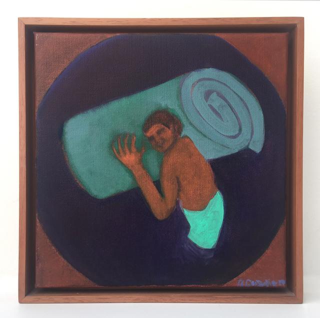 , 'Carguero. El colchón, Primera Versión,' 2014, Casas Riegner