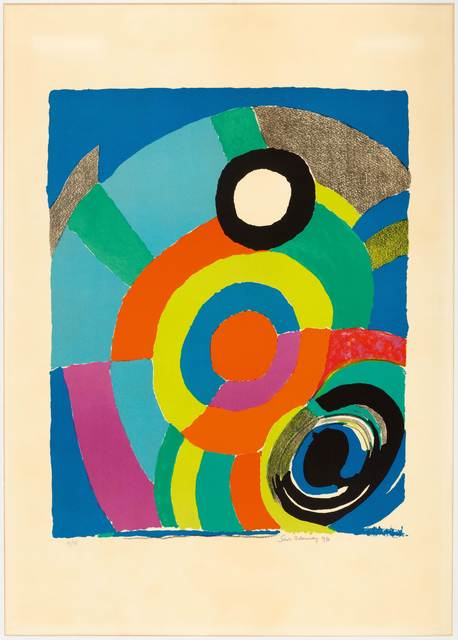Sonia Delaunay, 'Tourbillion', 1979, Print, Colour lithograph, Koller Auctions