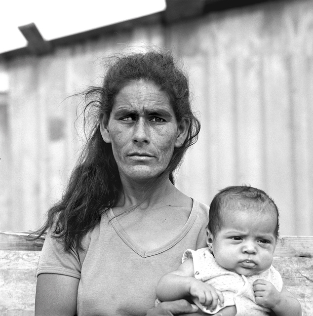 , 'Blind Woman and Child, Colonia, Nuevo Laredo Mexico, April 19, 1993,' , Gail Severn Gallery