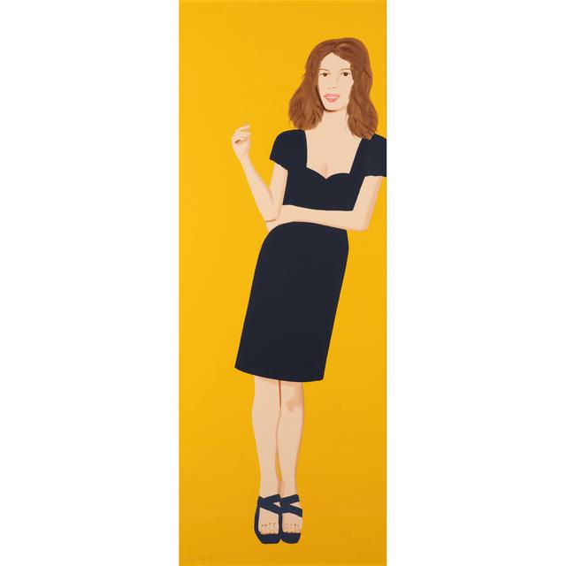 Alex Katz, 'Cecily (Brown), Black Dress II', 2015, PIASA