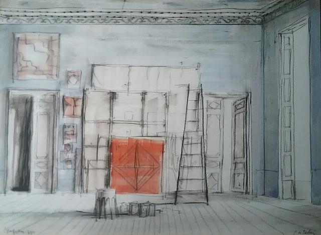 , 'L'atelier,' 2018, Octavia Art Gallery