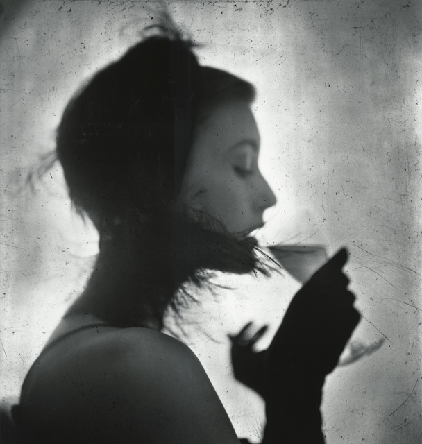 , 'Girl Drinking (Mary Jane Russell),' 1949, Howard Greenberg Gallery