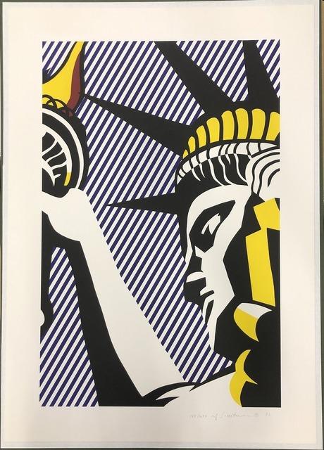 Roy Lichtenstein, 'I Love Liberty', 1982, Print, Screenprint on Arches 88 paper, Fine Art Mia