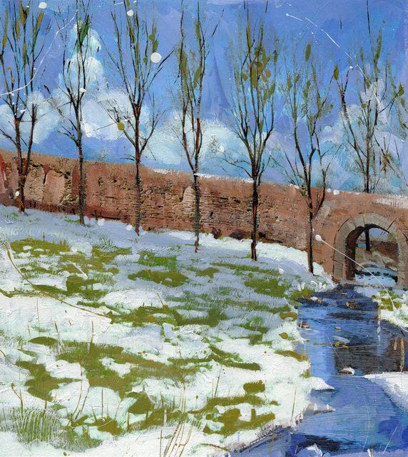 , 'Spring Snow,' 2017, Adelman Fine Art