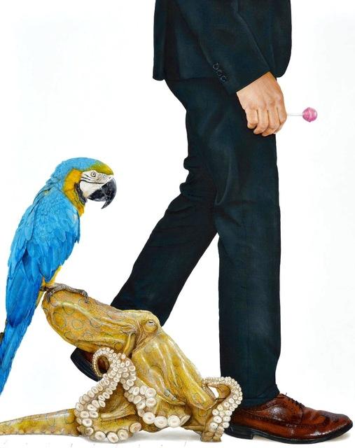 Ariel Vargassal, 'The accomplice ', 2019, Painting, Acrylic on canvas, Peimbert Art