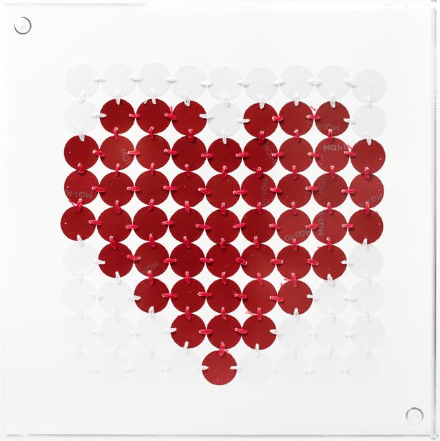 , 'Bitty Red Heart,' 2017, Paradigm Gallery + Studio