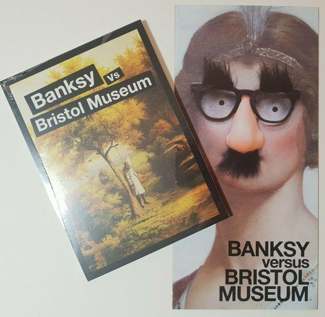 Banksy, 'BANKSY VS BRISTOL MUSEUM CRUDE OIL POSTCARDS SET & MUSEUM LEAFLET ', 2009, Arts Limited