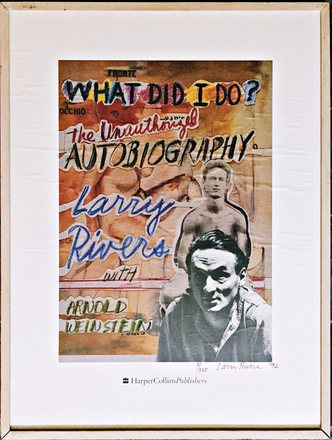 Larry Rivers, 'What Did I Do? The Unauthorized Biography ', 1992, Alpha 137 Gallery