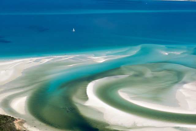 , 'Hill Inlet, Whitehaven Beach, Whitsunday Island,' 2017, Page Bond Gallery