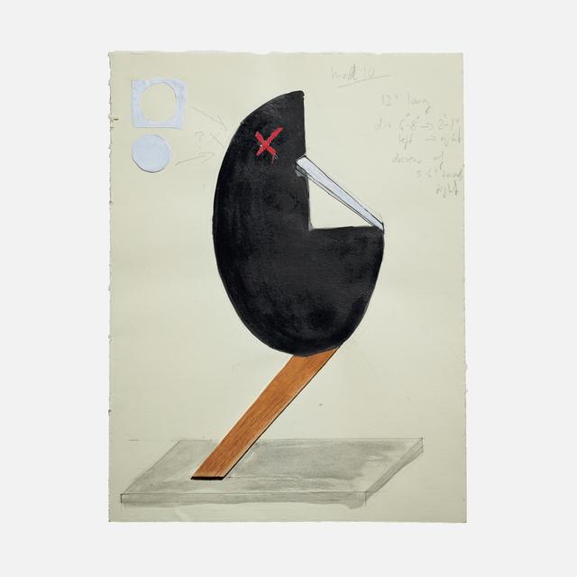 , 'Head 10,' 2017, Helwaser Gallery