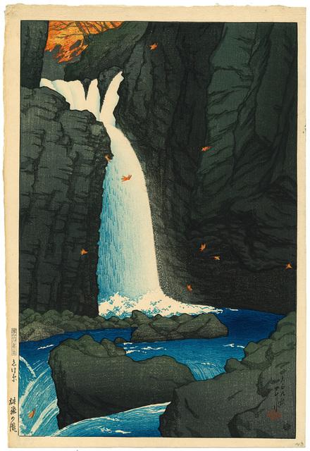 , 'Yūhi Waterfall, Shiobara,' 1920, Rijksmuseum