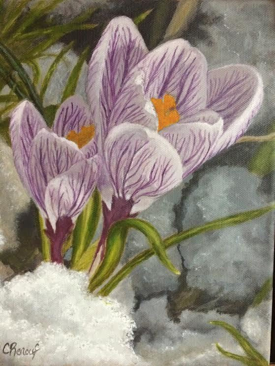 """""""Hope"""" by Carrie Renouf, acrylic on canvas"""