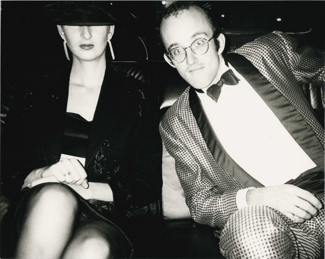 Andy Warhol, 'Andy Warhol, Photograph of Keith Haring and Julia Gruen, 1986', 1986, Hedges Projects