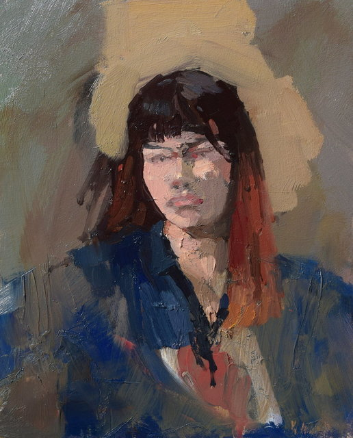 Michael John Ashcroft, 'Study of a Girl I', ca. 2015, Gateway Gallery