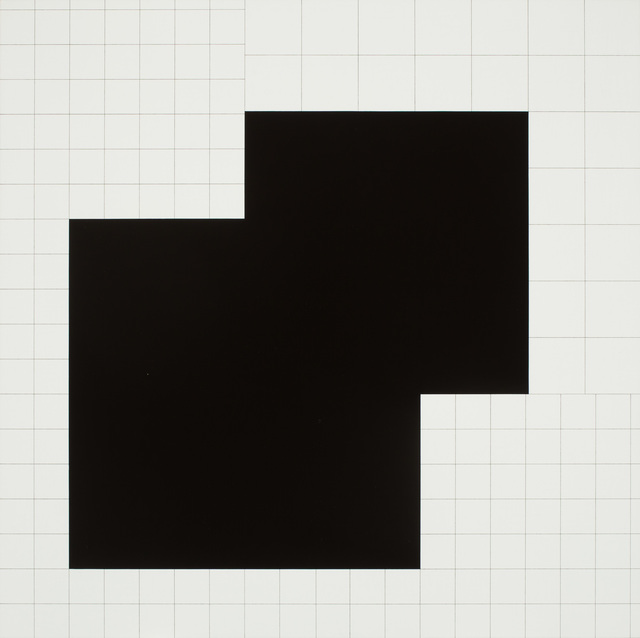 , 'koordination eines quadrats ,' 1972, VILTIN Gallery